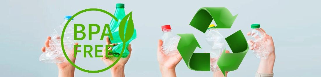 Utilizamos materias primas recicladas para la fabricación de varios de nuestros productos